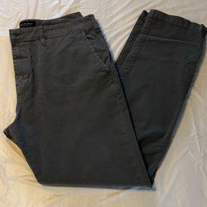 American Eagle Gray Pants Slim Fit